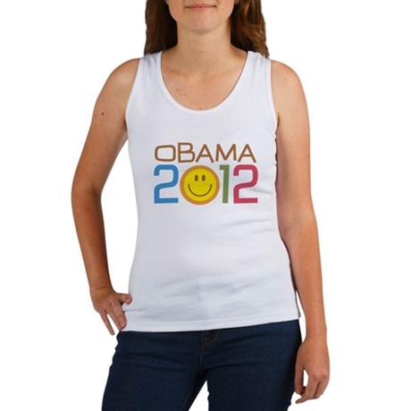 Obama 2012 Smile Women's Tank Top