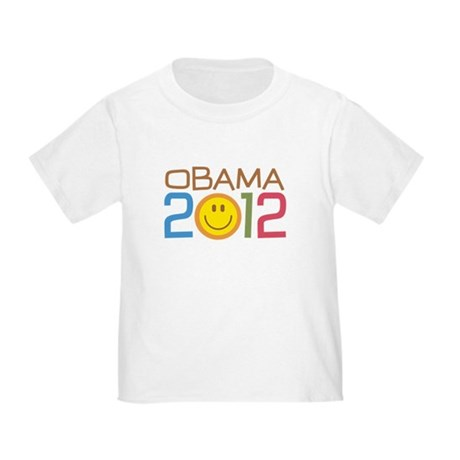 Obama 2012 Smile Toddler T-Shirt