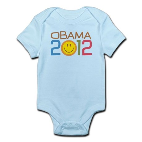 Obama 2012 Smile Infant Bodysuit