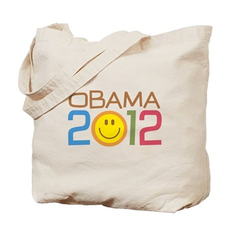 Obama 2012 Smile Tote Bag