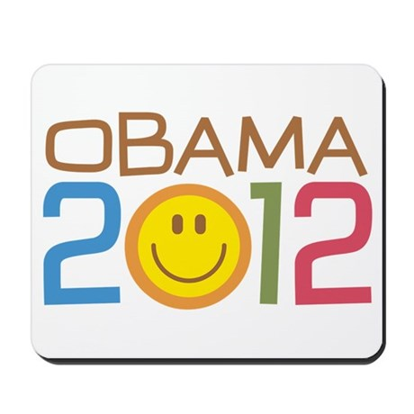 Obama 2012 Smile Mousepad