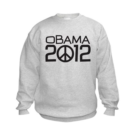 Peace Sign Obama Kids Sweatshirt