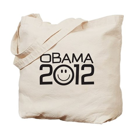 Smiley Face Obama Tote Bag