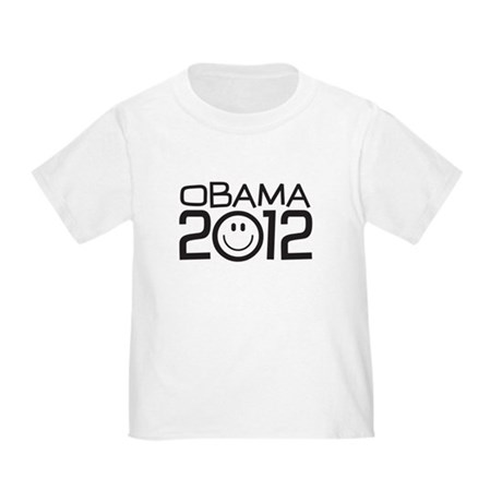 Smiley Face Obama Toddler T-Shirt