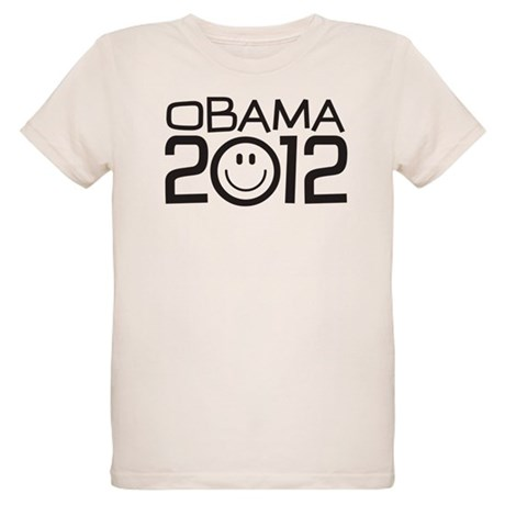 Smiley Face Obama Organic Kids T-Shirt