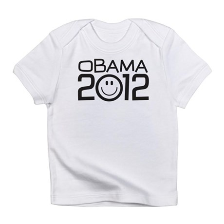 Smiley Face Obama Infant T-Shirt