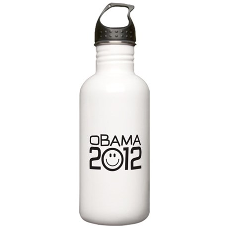 Smiley Face Obama Stainless Water Bottle 1.0L