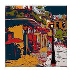 Pirates Alley Art Tile Coaster