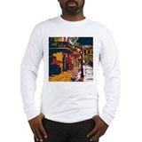 Blue Tile Pirates Alley Long Sleeve T-Shirt