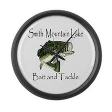 SMITH MOUNTAIN LAKE Large Wall Clock