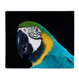 Parrot Throw Blanket