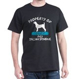 Italian Spinone Black T-Shirt