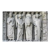Notre Dame Statue Postcards (Package of 8)