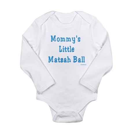 Little Matzah Ball Passover Long Sleeve Infant Bod