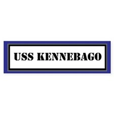 USS Kennebago Bumper Sticker