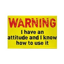 Attitude Warning Rectangle Magnet