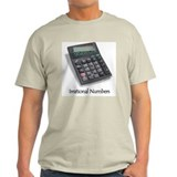Irrational Numbers Ash Grey T-Shirt