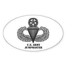 Master Airborne Wings Oval Decal