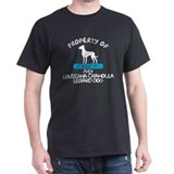 Louisiana Catahoula Black T-Shirt