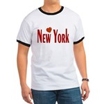 Love New York Ringer T