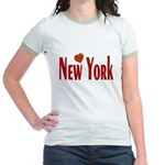 Love New York Jr. Ringer T-Shirt