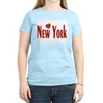 Love New York Women's Pink T-Shirt