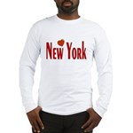 Love New York Long Sleeve T-Shirt