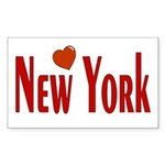 Love New York Rectangle Sticker
