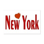Love New York Mini Poster Print