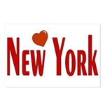 Love New York Postcards (Package of 8)