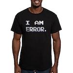 I Am Error Men's Fitted T-Shirt (dark)