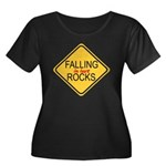 Falling In Love Rocks Women's Plus Size Scoop Neck