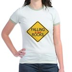 Falling In Love Rocks Jr. Ringer T-Shirt