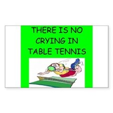 table tennis gifts Decal