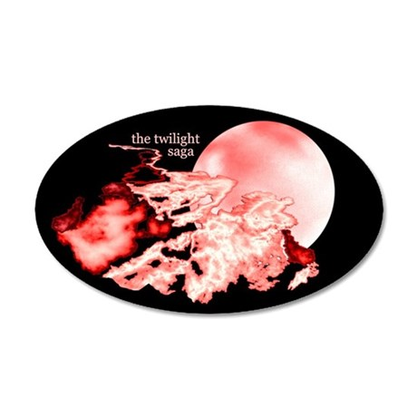 The Twilight Saga 22x14 Oval Wall Peel