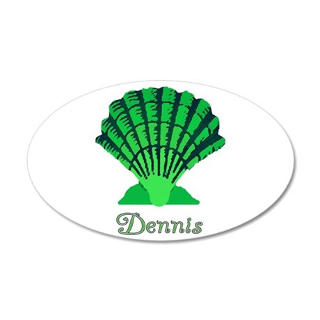 Dennis Shell 22x14 Oval Wall Peel