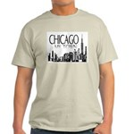 Chicago My Town Ash Grey T-Shirt