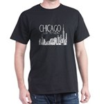 Chicago My Town Black T-Shirt