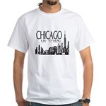 Chicago My Town White T-Shirt