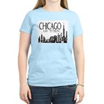 Chicago My Town Women's Pink T-Shirt