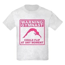 Warning Gymnast Could Flip T-Shirt