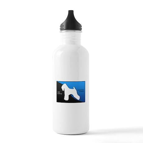 Soft Coated Wheaten Terrier Stainless Water Bottle