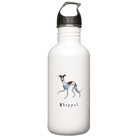 Whippet Illustration Stainless Water Bottle 1.0L