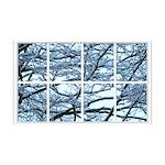 Snowy Branches Window 38.5 x 24.5 Wall Peel