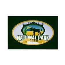 Natl Park Nerd (Ver 2) Rectangle Magnet (100 pack)