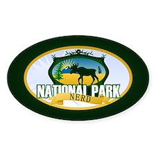 Natl Park Nerd (Ver 2) Decal