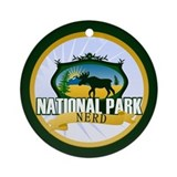 Natl Park Nerd (Ver 2) Ornament (Round)