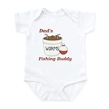 Dad's Fishing Buddy Infant Onesie