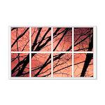 Sunset Trees 22x14 Wall Peel