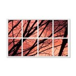 Sunset Trees 22x14 Wall Peel